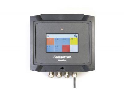 GasVisor - Unidad de control de gases inflamables, tóxicos, oxígeno y compuestos orgánicos volátiles con opción inalámbrica.