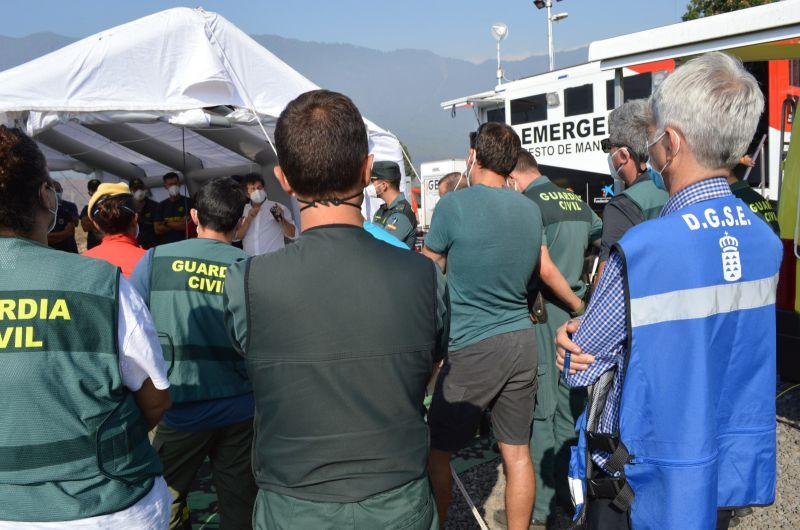El Gobierno de Canarias adquiere equipos de medición de gases para efectivos policiales e intervención desplegados en La Palma.